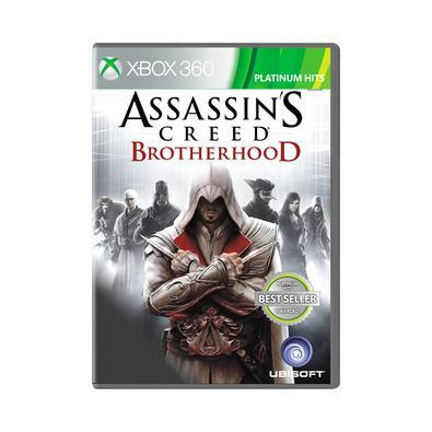 Jogo Assassin's Creed Brotherood Xbox360