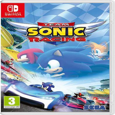 OGO MÍDIA FÍSICA, NOVO E LACRADO, ORIGINAL -Team Sonic Racing para Nintendo Switchcombina os melhores elementos das corridas arcade para você jogar so