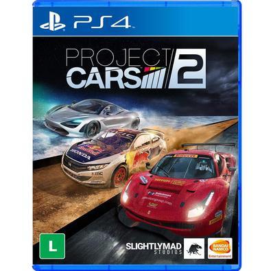 JOGO MÍDIA FÍSICA, NOVO E LACRADO, ORIGINAL -  Project Cars 2 - Ps4Project CARS 2 é a nova evolução da premiada série de jogos de corrida, com os carr
