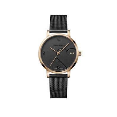 Relógio Femino Wenger Metropolitan Donnissima com cristais SwarovskiApaixone-se pela vida com a coleção Metropolitan Donnissima. Confiantemente contem