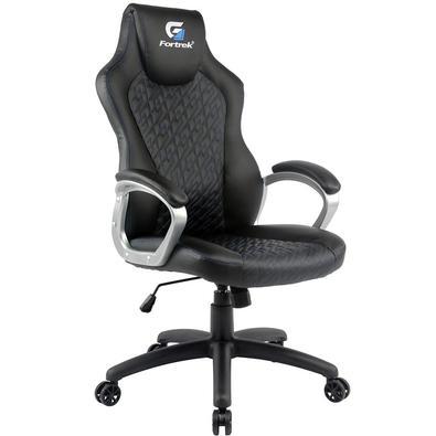Esta Cadeira Gamer foi criada especialmente para os fãs de jogos de longa duração. A cadeira Gamer Blackfirevem equipada com um pequeno apoio de cabeç