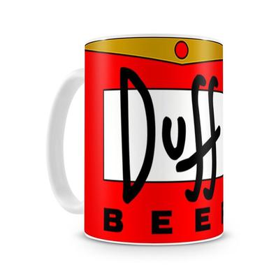 Caneca Os Simpsons Duff Beer