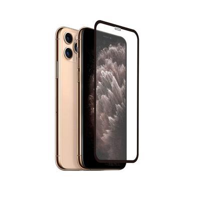 Protege completamente a tela do iPhone 11 Pro Max, indo de uma ponta a outra da tela, incluindo a curvatura lateral; Instalação prática, não deixa bol