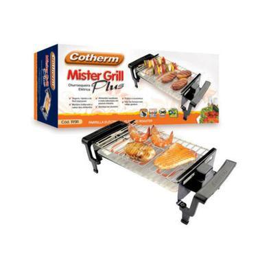 Churrasqueira mister grill plus cotherm 220V uma churrasqueira para quem precisa de praticidade e exige qualidade de sabor! a mister grill plus da cot