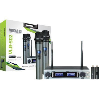 Utilizando-se de tecnologia sustentável, com a sua bateria de Lithium recarregável, o novo Vokal VLR-502 é um microfone sofisticado e inovador. Com o