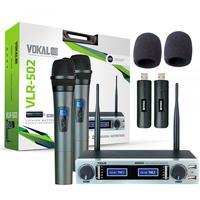 DESCRIÇÃOUtilizando-se de tecnologia sustentável, com a sua bateria de Lithium recarregável, o novo Vokal VLR-502 é um microfone sofisticado e inovado