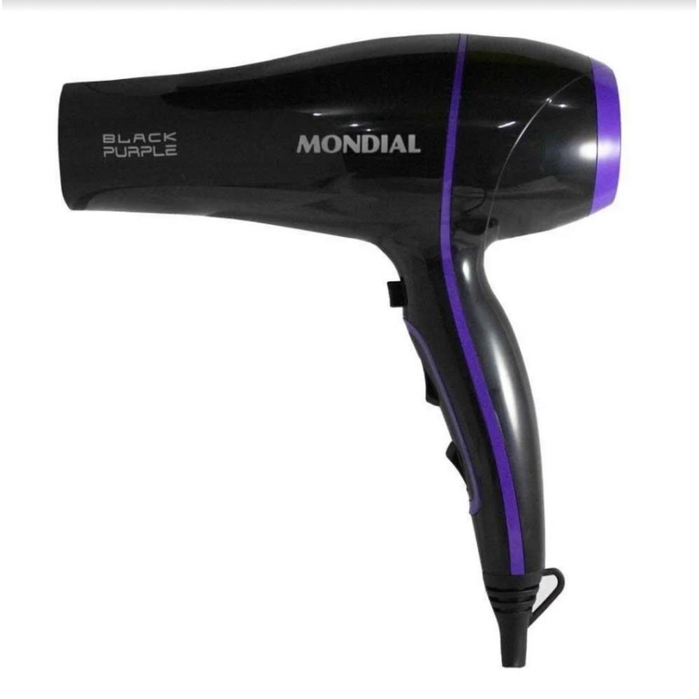 Imagem de Secador de Cabelo Mondial Black Purple SCN-01