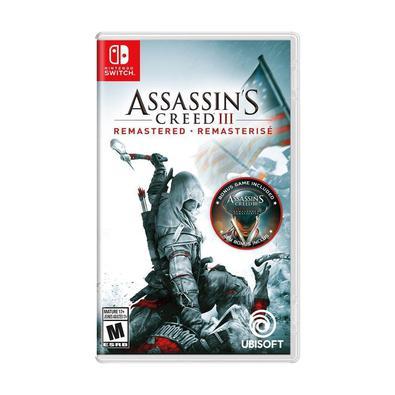 Em Assassin´s Creed III Remastered, reviva a Revolução Americana ou viva essa experiência pela primeira vez com gráficos e mecânicas de jogo ainda mel