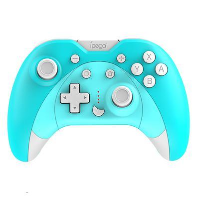 Controle Nintendo Switch Wireless Turbo SW023 Azul  Características: - Com função de aceleração Turbo, mais poderoso e rápido, no modo mouse, ele poss
