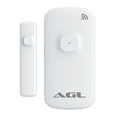 O Sensor de porta/janela AGL funciona simplesmente conectado ao seu WiFi, não é necessário nenhuma central para funcionamento.O sensor inteligente de