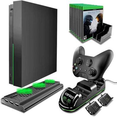 Kit De Acessórios Xbox One X 4 Em 1 Cooler E Carregador