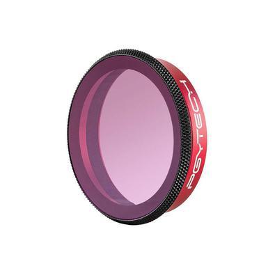 O filtro Polarizador para Osmo Action permite reduzir ou eliminar reflexos de luz e melhorar a reprodução de cores nas imagens, além de também oferece