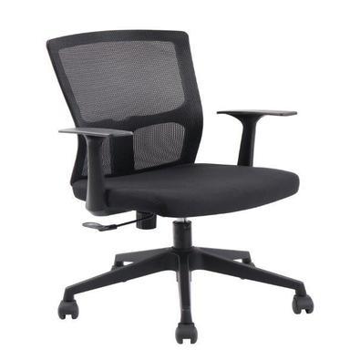 """Com design moderno a """"Cadeira de Escritório Diretor Pelegrin PEL-3801 Tela Mash Giratória Preta"""" é uma ótima escolha para ambientes corporativos.  Seu"""