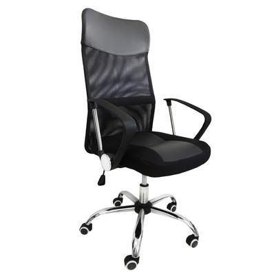 Cadeira Presidente Em Tela Mesh Pel-8009 Preta