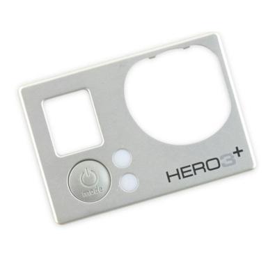Reponha a Tampa Frontal de sua GoPro Hero 3+ Silver adquirindo esta Tampa Frontal de Substituição compatível.    Recomendamos que a substituição seja