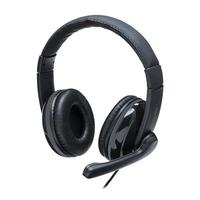 Headset Pro Multilaser USB, desenvolvido com acabamento Premium e sistema que minimiza ruídos externos e é ótimo para longas jornadas, pois os earpads
