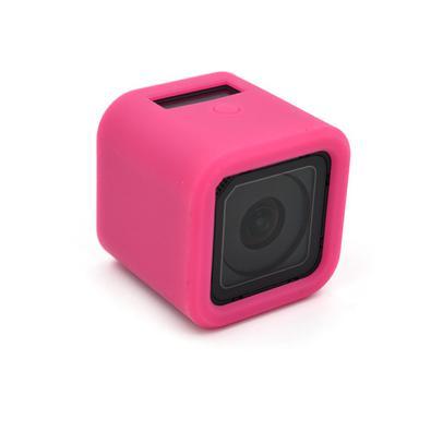 Proteja sua câmera de ação enquanto registra seus momentos, com a Capa Protetora em Silicone para GoPro Hero 4/5 Session
