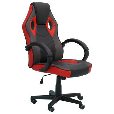 Cadeira Gamer Sports Galaxy - NCGGP, possui características ergonomicamente amigáveis que permitem longas sessões de jogos online ou trabalho e evitam