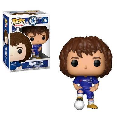 Boneco Funko Pop Football Chelsea David Luiz 06