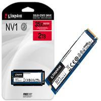 Resposta excepcional para notebooks e computadores! O SSD NV1 NVMe PCIe da Kingston é uma solução de armazenamento significativa que oferece velocidad