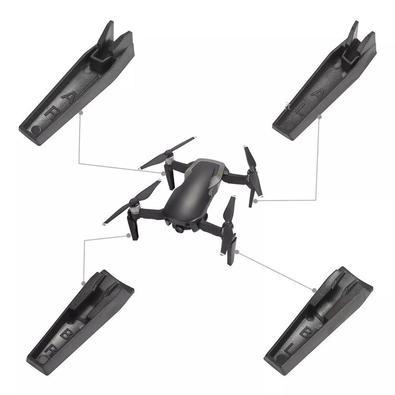 Trem de pouso estendido deixa seu drone à 3,5cm do chão, protegendo assim a câmera, os sensores e os sonares ao aterrissar em uma superfície irregular