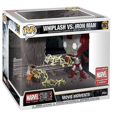 Funko Pop! Whiplash Vs. Iron Man - Do filme Avengers, POP vinyl da Funko! Confira os outros Pop! da Marvel, Filmes, Desenhos entre outros Colecione to