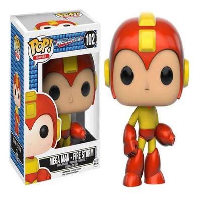 Funko Pop! Megaman Fire Storm 102