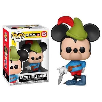 Boneco Funko Pop Disney Mickey 90th Brave Little Tailor 429