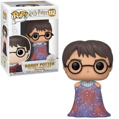 Decore seu ambiente, tornando-o mais agradável e sofisticado, com este divertido funko inspirado no Harry Potter, com a mágica capa da invisibilidade!