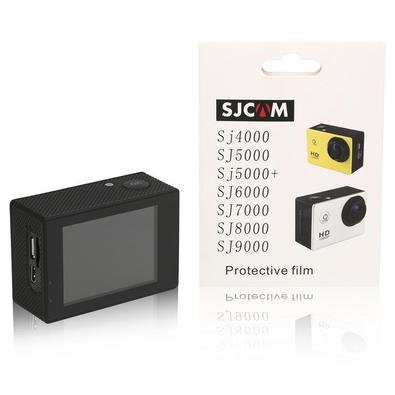Proteja sua Action Cam contra arranhões e sujeiras através desta Película de Proteção Para Tela Lcd Touch Display para SJCAM. - Película leve e protet