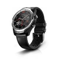 Relógio Mobvoi TicWatch Pro é um relógio inteligente com dois monitores (OLED colorido e LCD FSTN auxiliar para saída de informações), que têm um desi