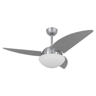 Ventilador De Teto Volare Escovado Vr42 Class Titanio 220V Referencia: 60469 Os Ventiladores Volare são desenvolvidos com tecnologia de ponta e design