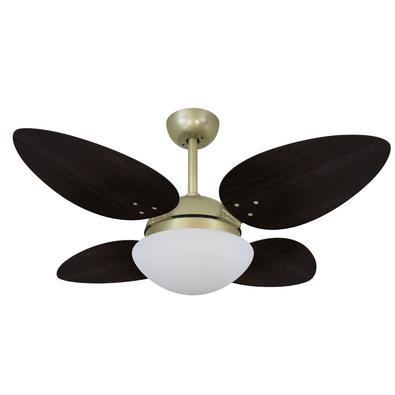 Ventilador De Teto Volare Gold Vr42 Petalo/4 Tabaco 220V Referencia: 63102 Os Ventiladores Volare são desenvolvidos com tecnologia de ponta e design e