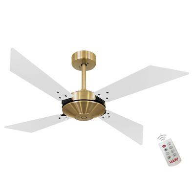 Ventilador De Teto Volare Dourado Tech New Office Branco 220V e Controle Remoto Referencia: 60015 Os Ventiladores Volare são desenvolvidos com tecnolo