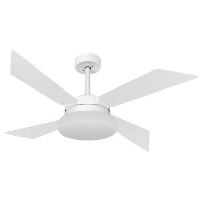 Ventilador De Teto Volare Branco Fosco R1 Vr50 Tech Branco 127V Referencia: 63087 Os Ventiladores Volare são desenvolvidos com tecnologia de ponta e d