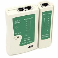 O Testador Multitoc verifica a continuidade do cabeamento telefônico ou de rede. ModeloMarca GV Modelo Testador de Cabos Multifuncional RJ11/RJ45