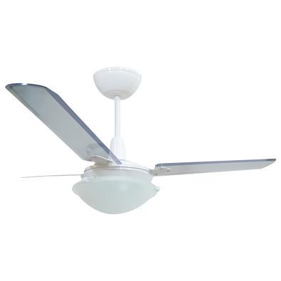 Ventilador Unions Branco 220V 3 Pás Transparentes O Ventilador Unions é excelente para refrescar sua casa! Com design moderno, conta com uma tecnologi