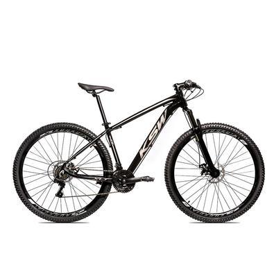 A KSW é, uma bicicleta Aro 29 com freio a disco desenvolvida para passeios e um bom começ,o nas primeiras trilhas da categoria MTBQuadro em alumí,nio