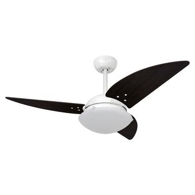 Ventilador De Teto Volare Branco Fosco Class Tabaco 220V Referencia: 60389 Os Ventiladores Volare são desenvolvidos com tecnologia de ponta e design e