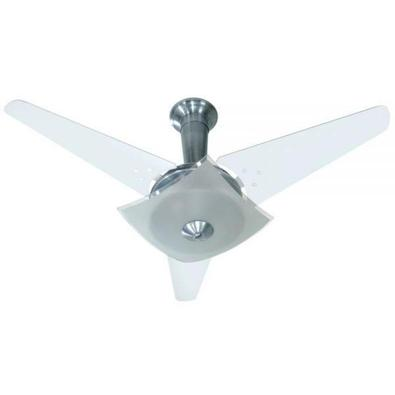 Ventilador Quadrimax Alumínio 220V 3 Pás Brancas
