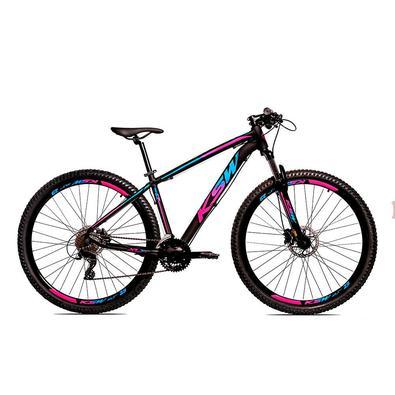 A KSW é, uma bicicleta Aro 29 com freio a disco desenvolvida para passeios e um bom começ,o nas primeiras trilhas da categoria MTB.Quadro em alumí,nio