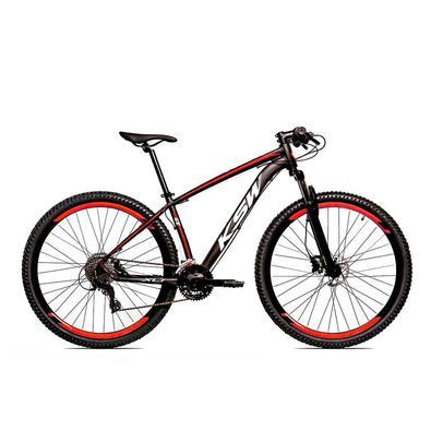 A KSW é uma bicicleta Aro 29 com freio a disco desenvolvida para passeios e um bom começo nas primeiras trilhas da categoria MTB.Quadro em alumínio 60