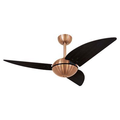 Ventilador De Teto Volare Cobre Office Class Tabaco 127V Referencia: 63220 Os Ventiladores Volare são desenvolvidos com tecnologia de ponta e design e