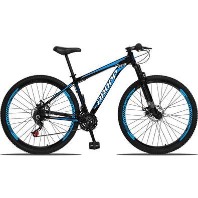Um dos modelos mais vendidos na linha Dropp a Bicicleta Aluminum possui um nome forte é uma grande gama de cores. Possui 21 combinações de marchas, tr