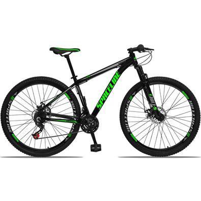 A Bicicleta Orion Aluminum possui um nome forte e uma grande gama de cores. Possui 21 combinações de marchas, trocadores Revoshift que facilita as tro