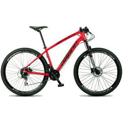 Agora renovada a Bicicleta TX tem como destaque seu quadro, com design diferenciado dos modelos tradicionais, possui um aspecto robusto. Este modelo T