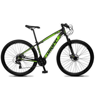 Melhor desempenho. Melhor valor. Melhor Dropp Z4-X. Aproveitamos e melhor geometria de uma bicicleta de montanha para ajustar melhor ao ciclista brasi