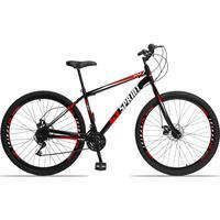 GT Sprint MX1 é nossa Mountain Bike com quadro em aço carbono, além de ter um ótimo custo benefício o quadro é super resistente. Possui 21 combinações