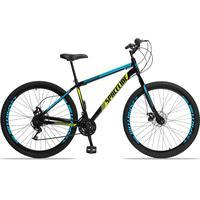 Spaceline Moon é nossa Mountain Bike com quadro em aço carbono, além de ter um ótimo custo benefício o quadro é super resistente. Possui 21 combinaçõe