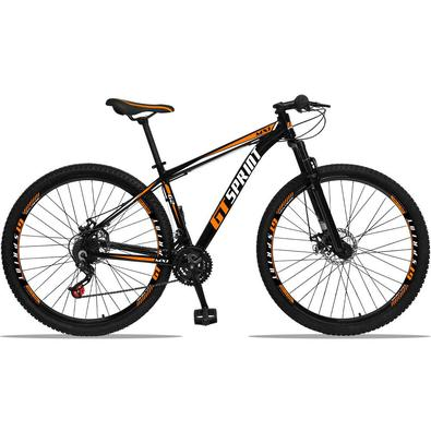 A Bicicleta Mx1 Aluminum possui uma ótima relação custo benefício, e uma grande gama de cores. Possui 21 combinações de marchas, trocadores Revoshift